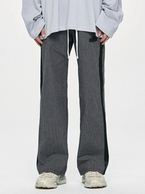 Check Lounge Pants - Black/Black