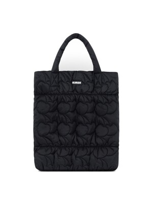 MIDDLE CHERRY QUILTING BAG IA [BLACK]