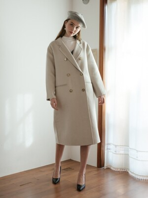 Montmedy Handmade Double Wool Coat (3color)