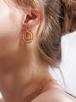 MIRAGE DOUBLE LINE EARRING