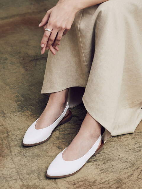 LEATHER SLINGBACKS_WHITE