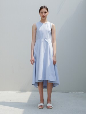 Sleeveless Flare Dress/Sora