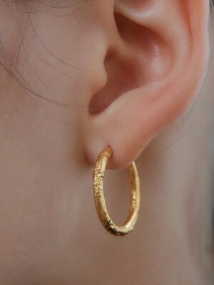 [SILVE] M CCT R EARRINGS (GOLD)