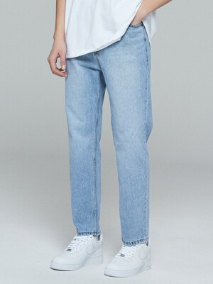 CLOUD STRAIGHT PANTS (INDIGO)