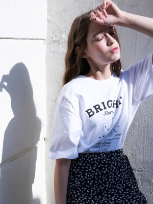 LB BRIGHT T-SHIRT(WHITE)