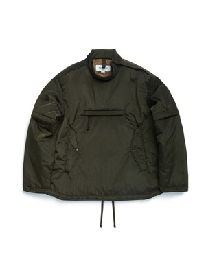 SMOCK JUMPER / OLIVE WASHER