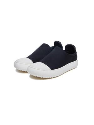 Sharksole Canvas Slip-on (BK/WH)_ PA3SU0101