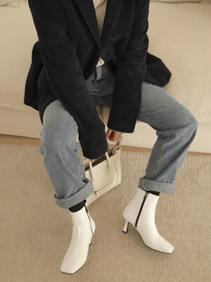 Hermoso ankle boots / vintage white