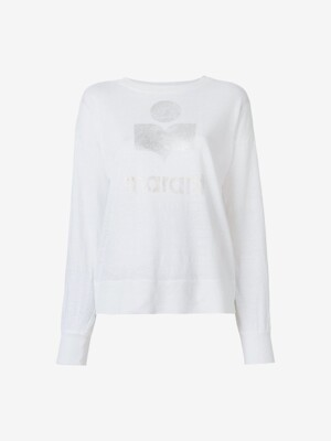 [WOMEN] 20FW KLOWIA LONG SLEEVE TSHIRT WHITE 00MTS0327 00M008E 20WH