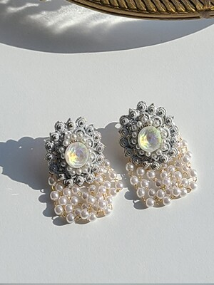 Bella Button Earrings