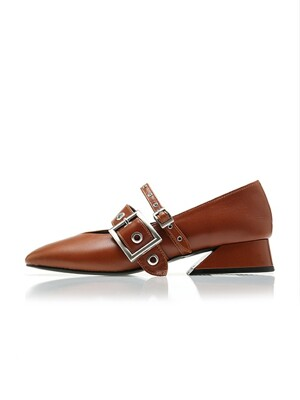 Annette loafer / YA6-F071 / Brick Brown