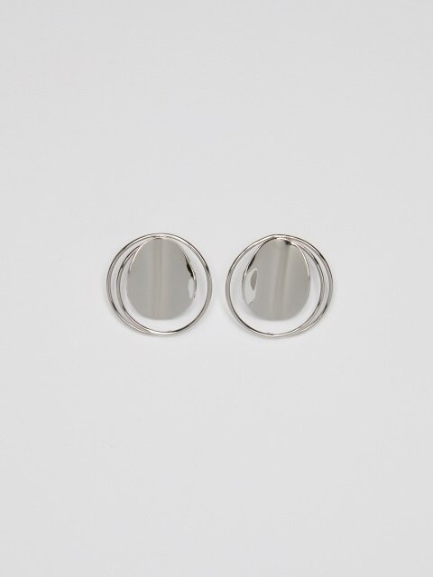 Full Moon Earrings_Silver