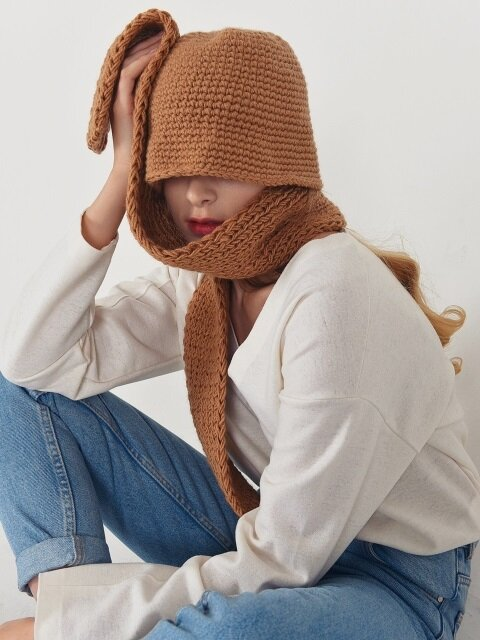 [handmade] momo knit bucket_5color