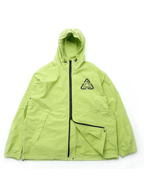 REFLECTIVE NYLON JKT (LIME)