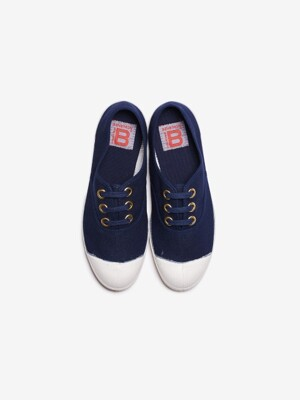 WOMAN LACET LIMITED GOLD EYELET - NAVY