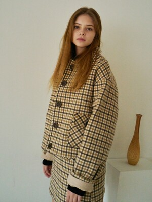 ES POCKET JACKET(BROWN)