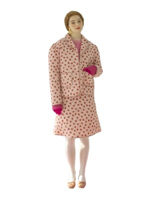 Lovers quilting puff jacket - Pink