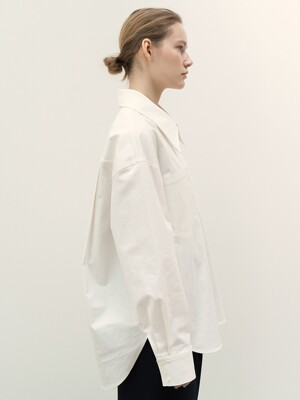 FW20 Hidden Pocket Shirts White