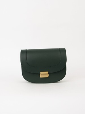 Brick classic bag (Deep green)