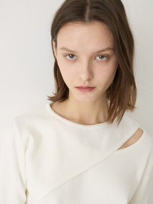 LM LAYERED KNIT(IVORY)