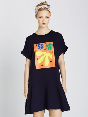 MATISSE PRINT DRESS
