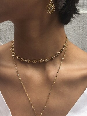 Doris chain choker (Gold)