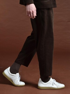 DGRE MOOR CORD PANTS BROWN