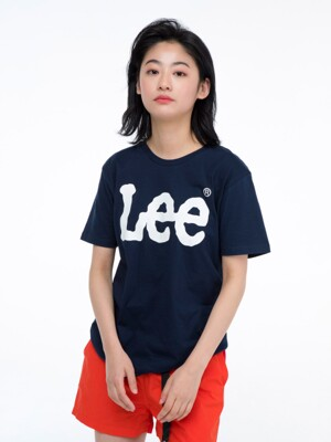 빅 로고 반팔티 BIG LOGO HALF TEE-NAVY/WHITE