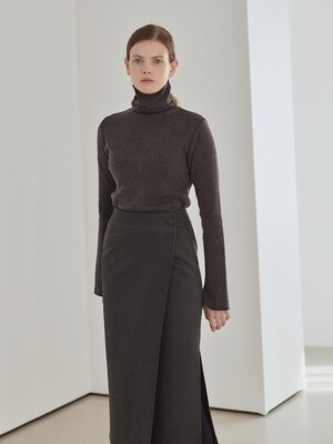 19WN basic turtleneck [CHA]