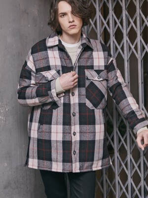 DIEL CHECK JACKET (BLACK)