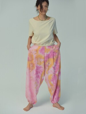 Natural Tie Dye Pants-2colors