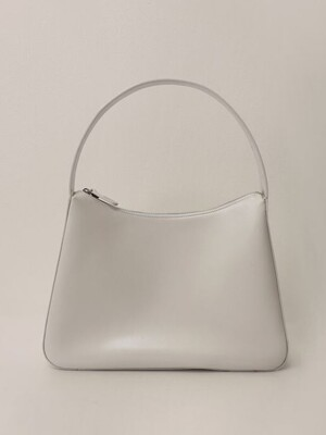 Ferry leather bag (Oyster white)