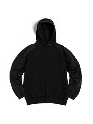 FROG HOODED SWEAT / BLACK