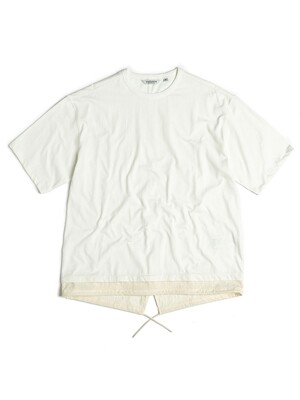 FISHTAIL T-SHIRT / OFF WHITE