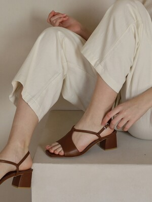 nubella sandal -brown