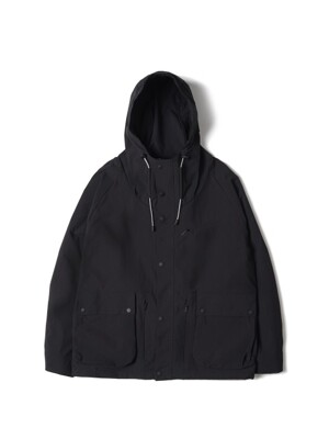 Hooded Exciting Parka Black