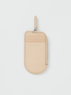 ICE CREAM WALLET, Natural Tan