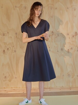 19ss - Modern dress - deep navy