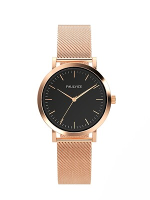 Emma Collection Black - Rosegold PV302RG