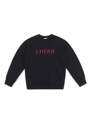 CHERIE SWEATSHIRT (BLACK)