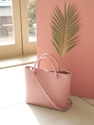 SUN TOTE BAG - PEACH ROSE