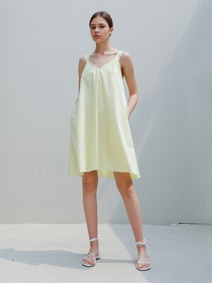 Pure Cotton Sundress/Lemon
