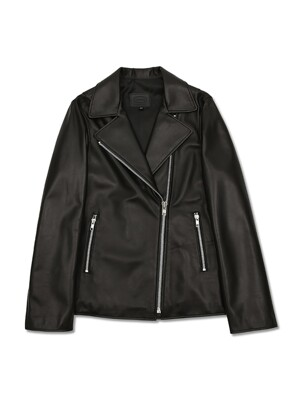Lamb skin rider jacket black