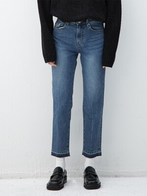 BLUE tapered jean(IB101)