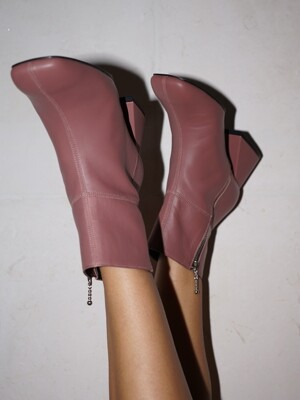 Melody Mondrian Boots / YY9A-B10 Rose pink