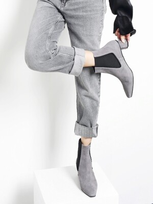 Feel at love boots_Suede Gray_0066