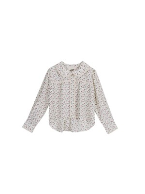 Leegoc flower lace blouse - Ivory
