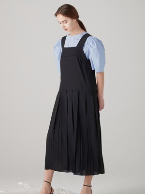 Joy layered dress - Black