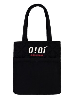 QUILTING POCKET BAG [BLACK]