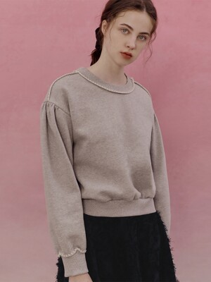 A EMBROIDERY SWEATSHIRT